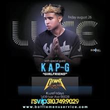 Lure Hollywood: Kap-G Performing Live