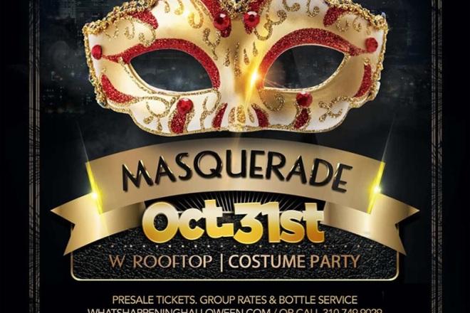 W Masquerade 2016 Halloween