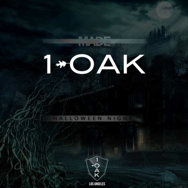1 OAK Los Angeles Halloween 2016
