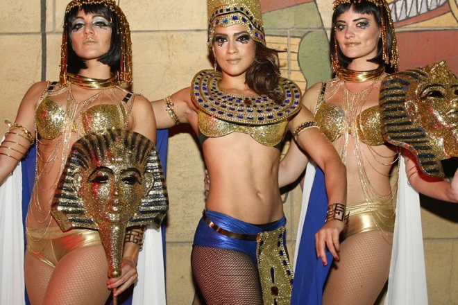 Egyptian Theatre Hollywood Halloween Party
