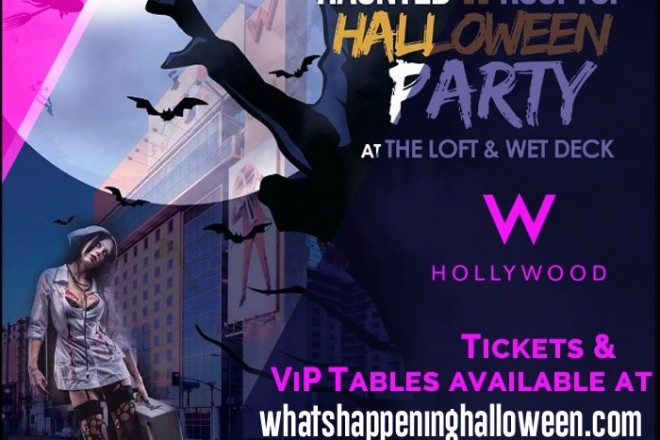 Haunted W Hollywood Rooftop