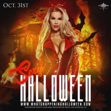 Playhouse Halloween Nightclub Party 2016