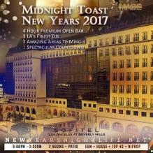Sofitel LA New Years 2017