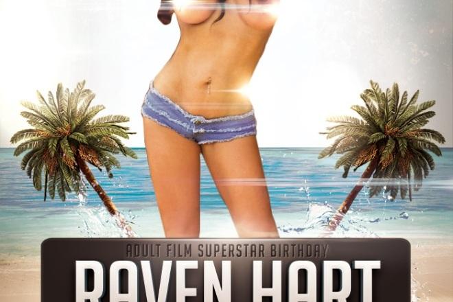 Raven Hart Birthday Party Club Lure